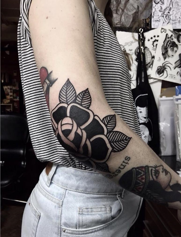 Black Rose Tattoo-7