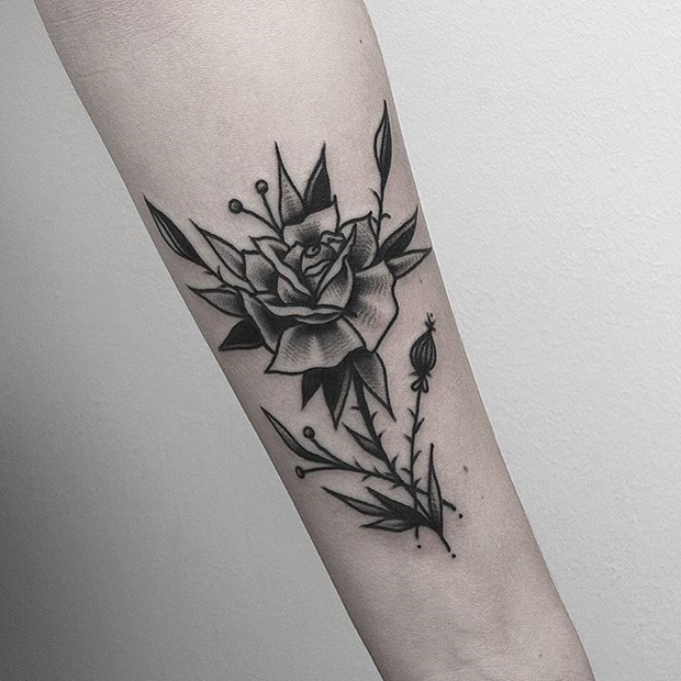Black Rose Tattoo-9