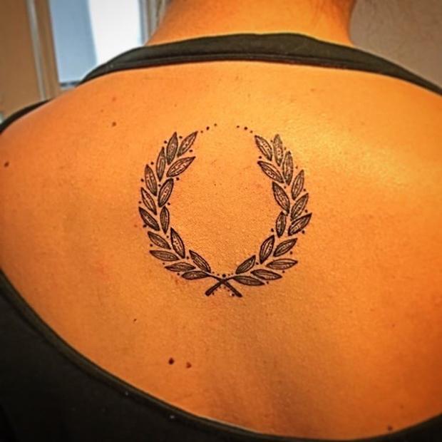 laurel wreath tattoo-26