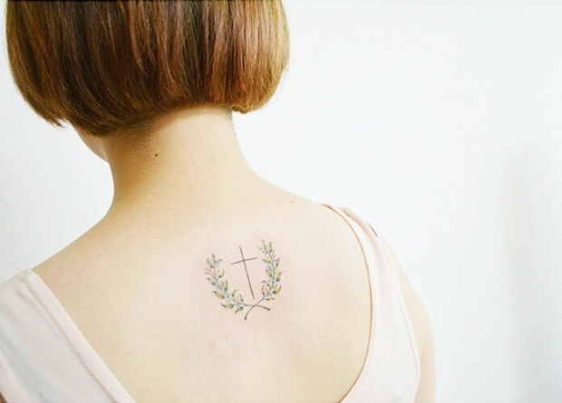 laurel wreath tattoo-6
