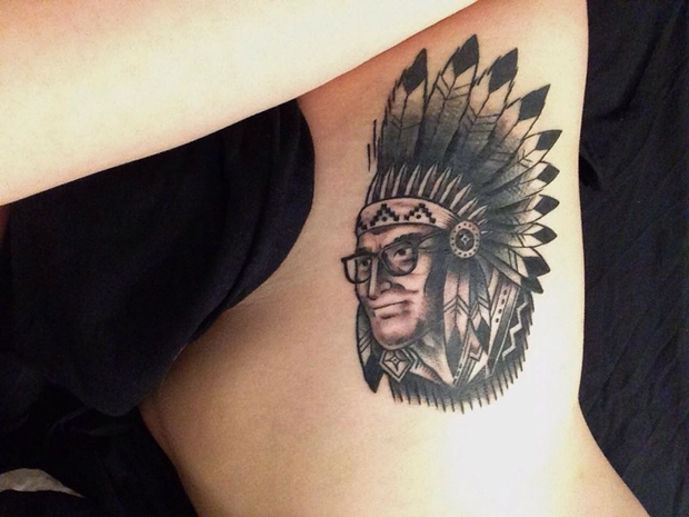 native side tattoos for girls