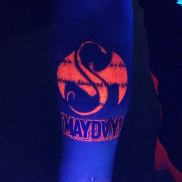 Mayday uv ink