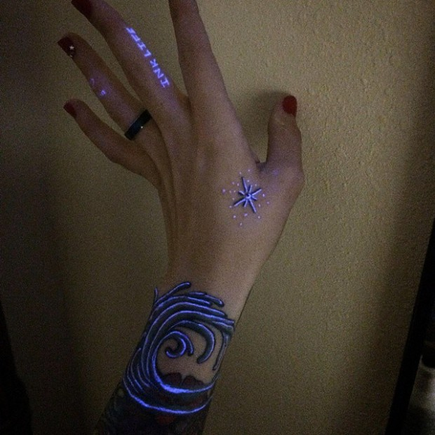 uv tattoo for women