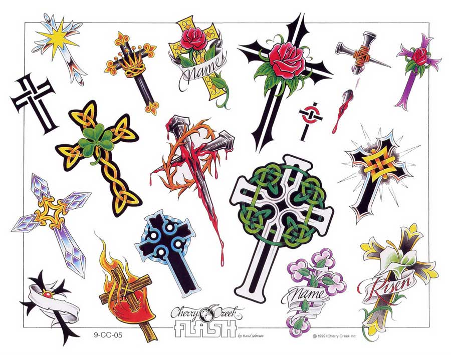 Crosses-tattoos-design