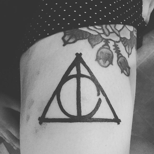 Deathly hallows tattoo 8