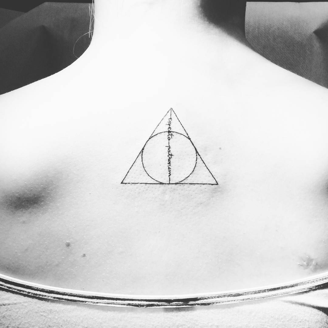 Harry potter expecto patronum tattoo 6