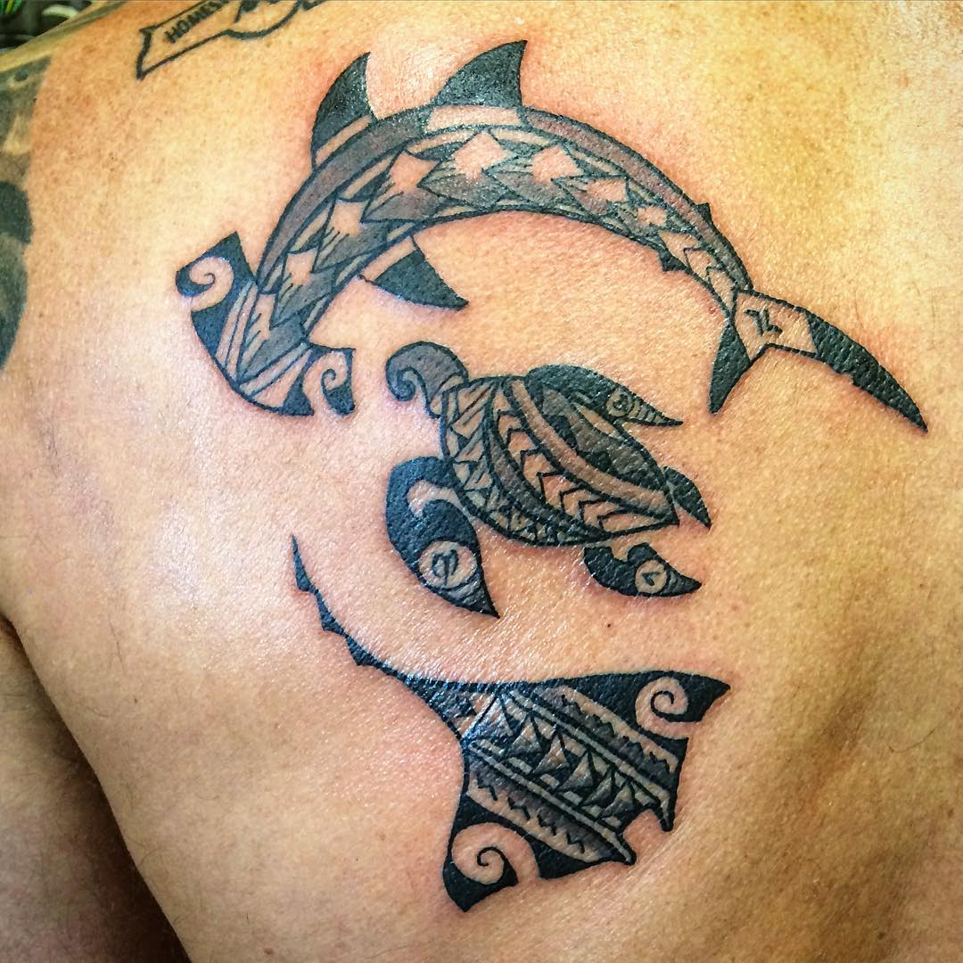 Hawaiian Animal Tattoos