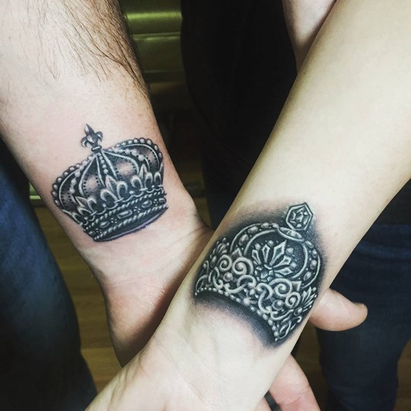 brother and sister arm tattoos