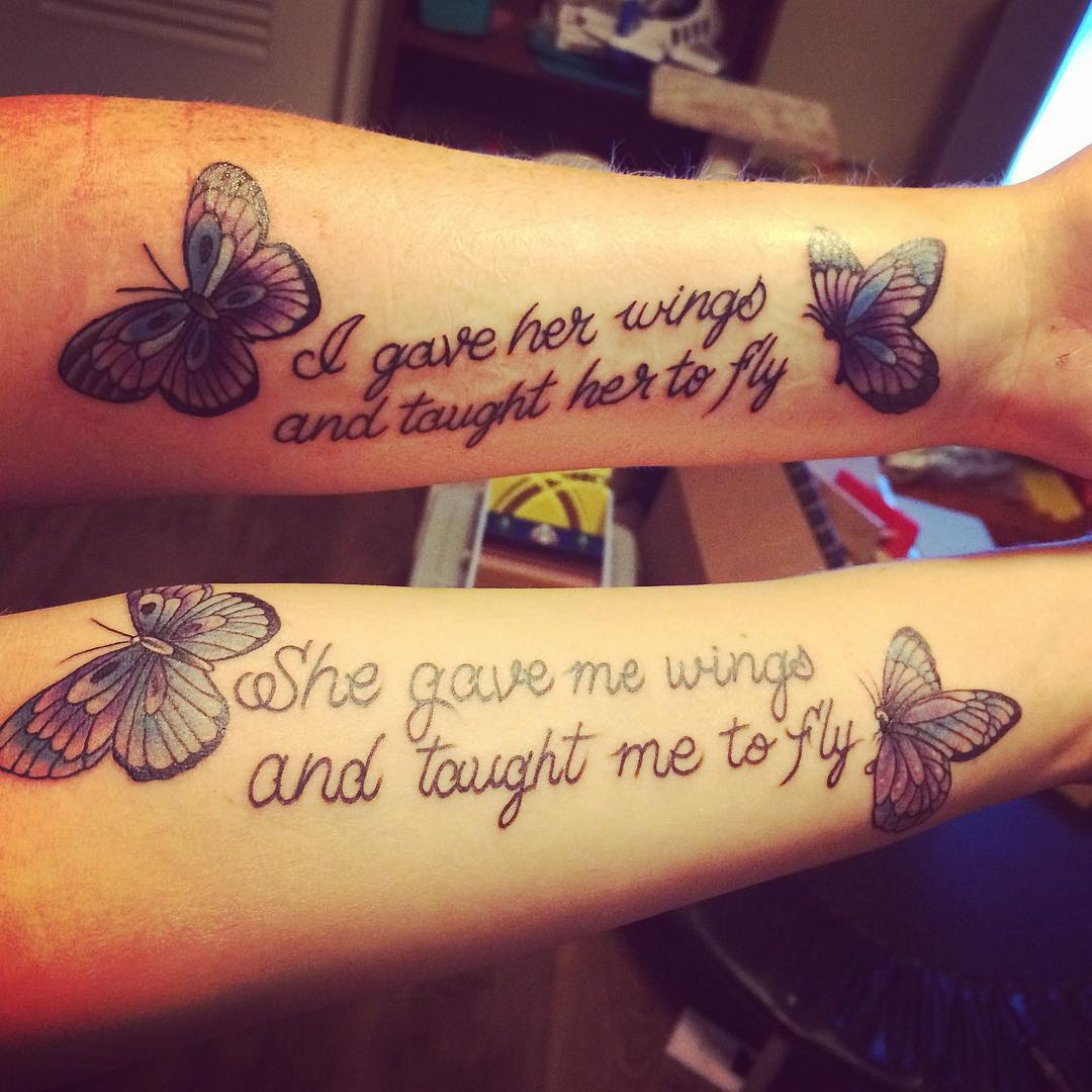 mother daughter tattoo ideas pictures 32
