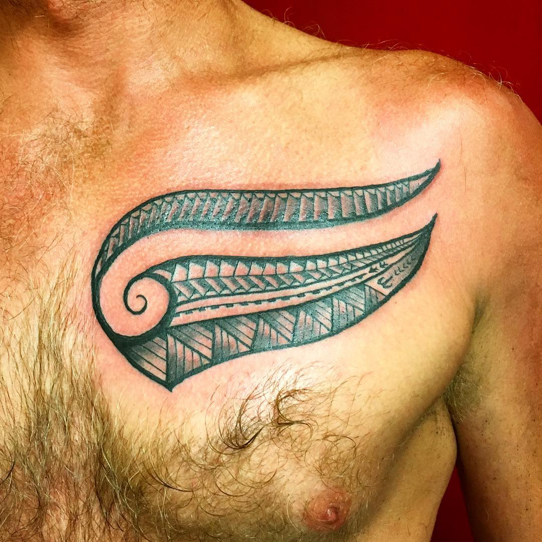 tribal Hawaiian tattoo designs