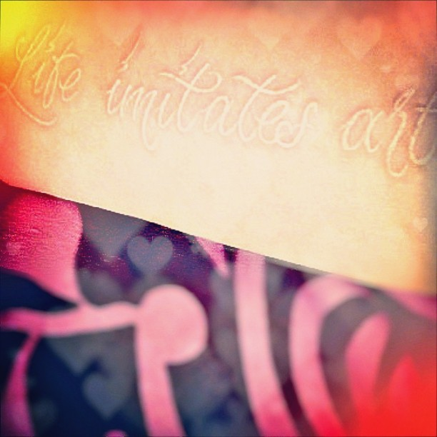 Cool quote sayings tattoo