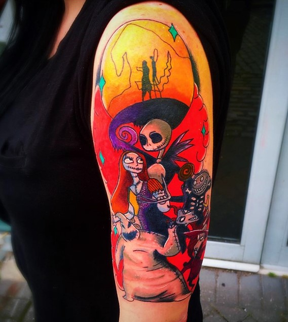 Nightmare Before Christmas Tattoos Designs-3