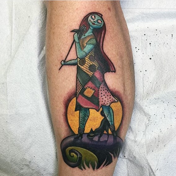 Nightmare Before Christmas Tattoos Designs-5