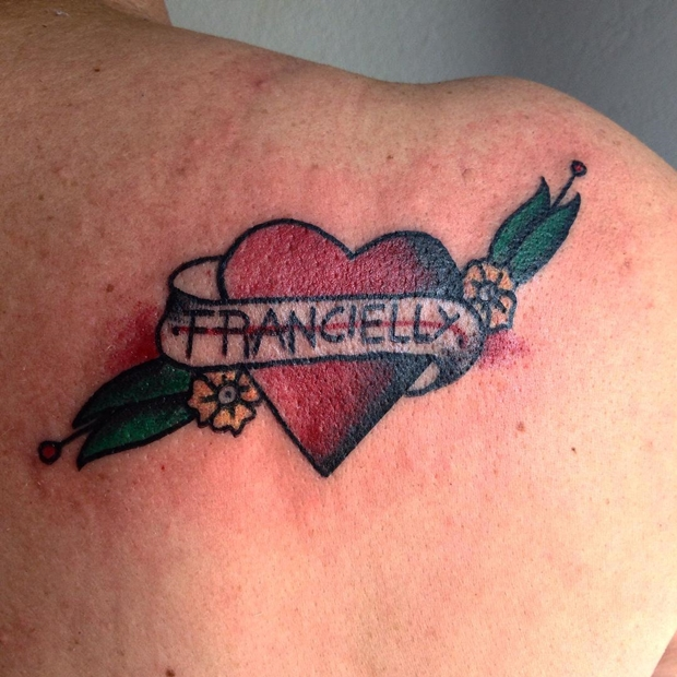 Tattoos Hearts with Names-1