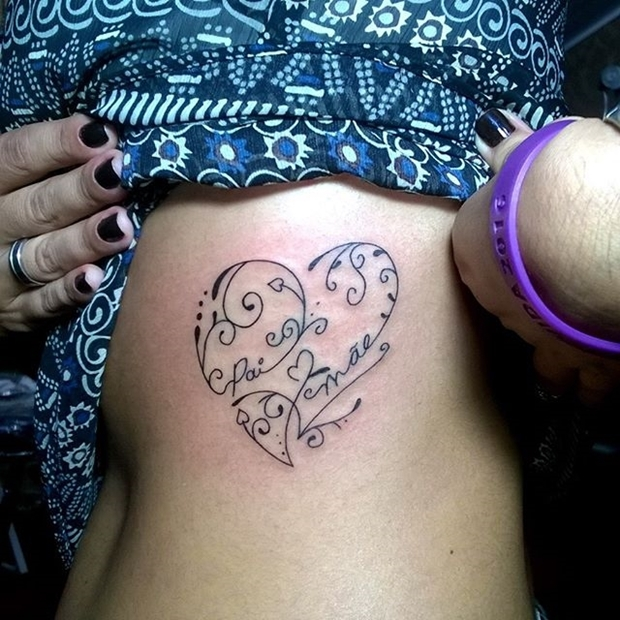 Tattoos Hearts with Names-11