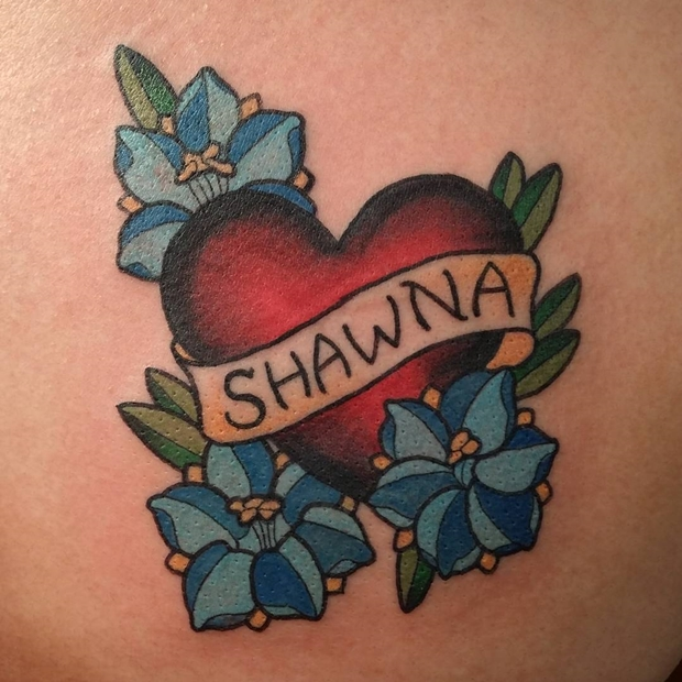 Tattoos Hearts with Names-17