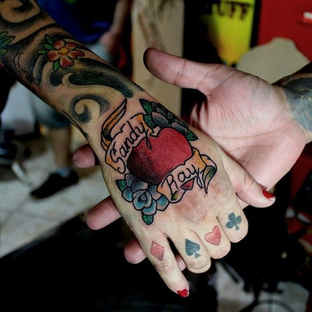 Tattoos Hearts with Names-7