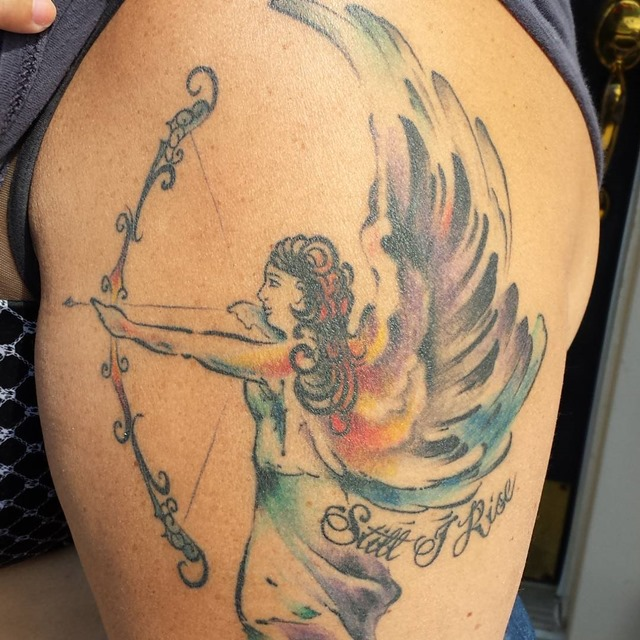 angel-with-bow-and-arrow-tattoo