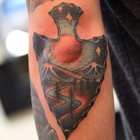 arrowhead tattoo pictures