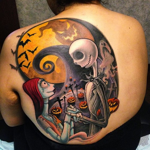 best nightmare before christmas tattoos