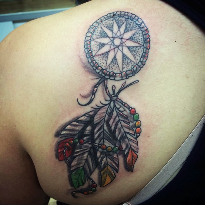 dream catcher tattoo-17