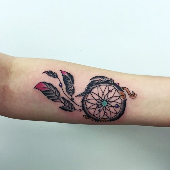 dream catcher tattoo-6