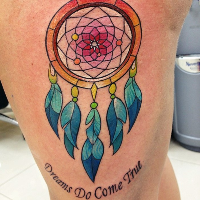 dream catcher tattoo-8