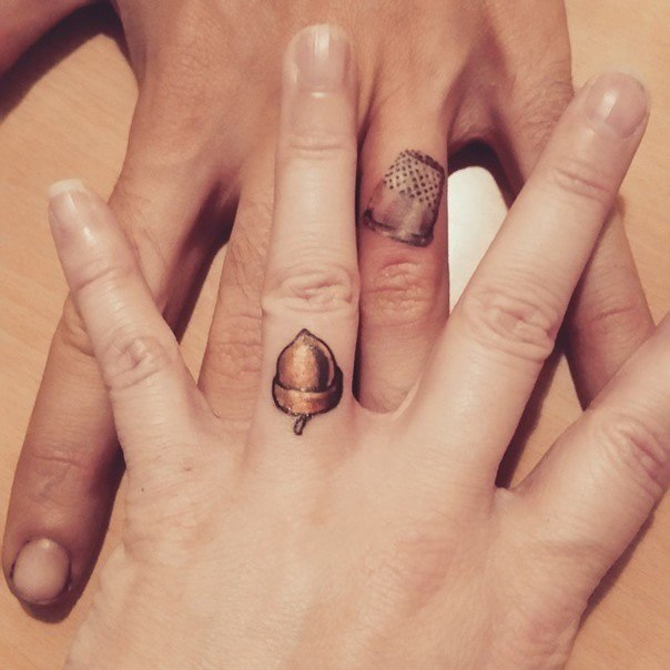 peterpan wedding ring tattoos