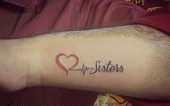sisters lifeline tattoo-4
