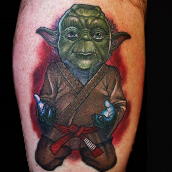 star wars yoda tattoo-3