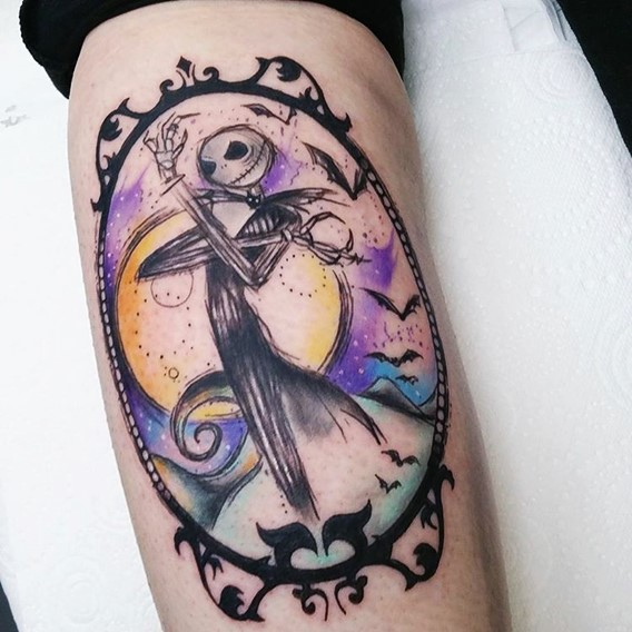 tattoos of jack from nightmare before christmas