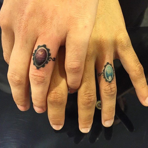 wedding jewelry ring tattoos