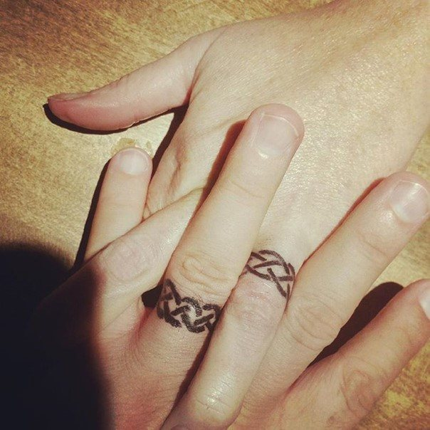wedding ring tattoo-17