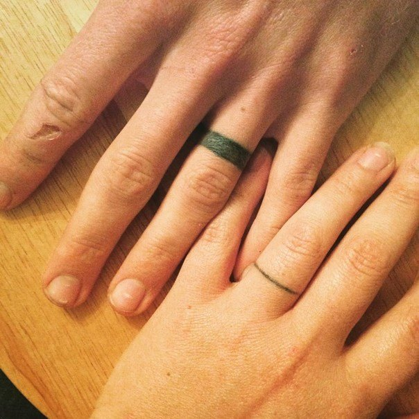 wedding ring tattoo-38