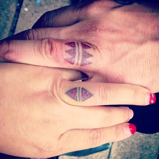 wedding ring tattoo-5