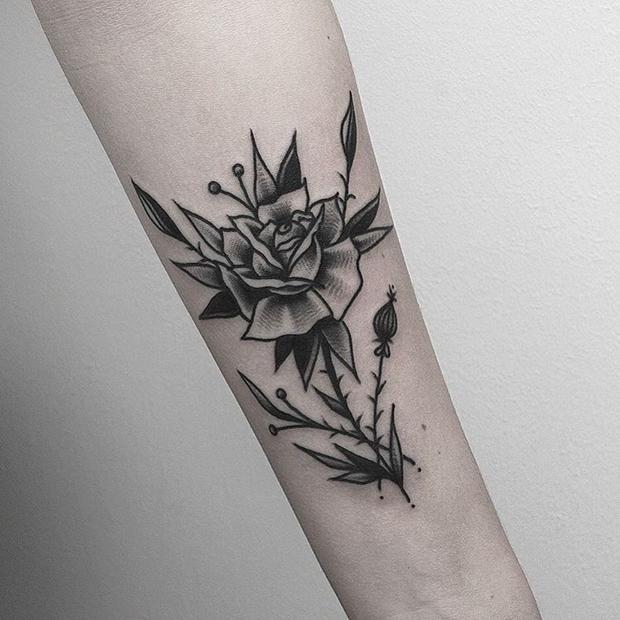 Black Rose Tattoo-9