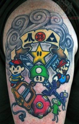 favorite character as tattoo