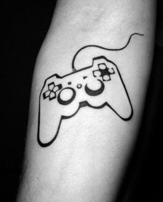 cool tattoo for gamer