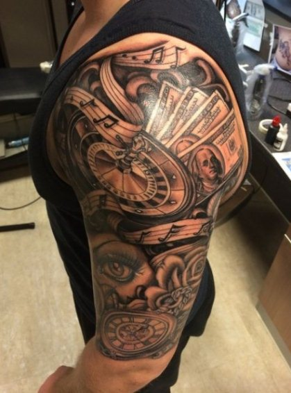 How much does a short sleeve tattoo cost?