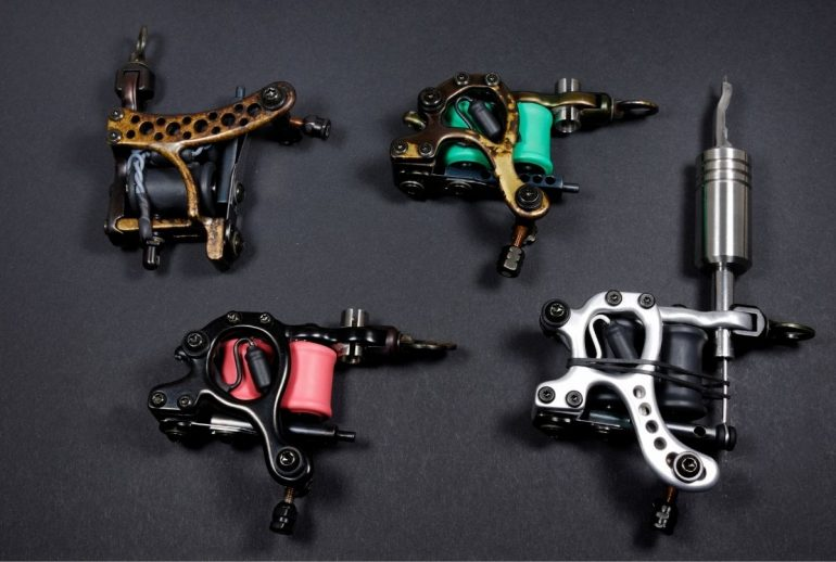 All You Need to Know About Different Types of Tattoo Machines